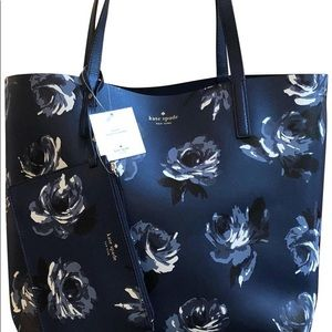 NWT Kate Spade Mya Arch place reversible tote bag